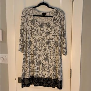 J Jill Wearever Collection tunic top or dress